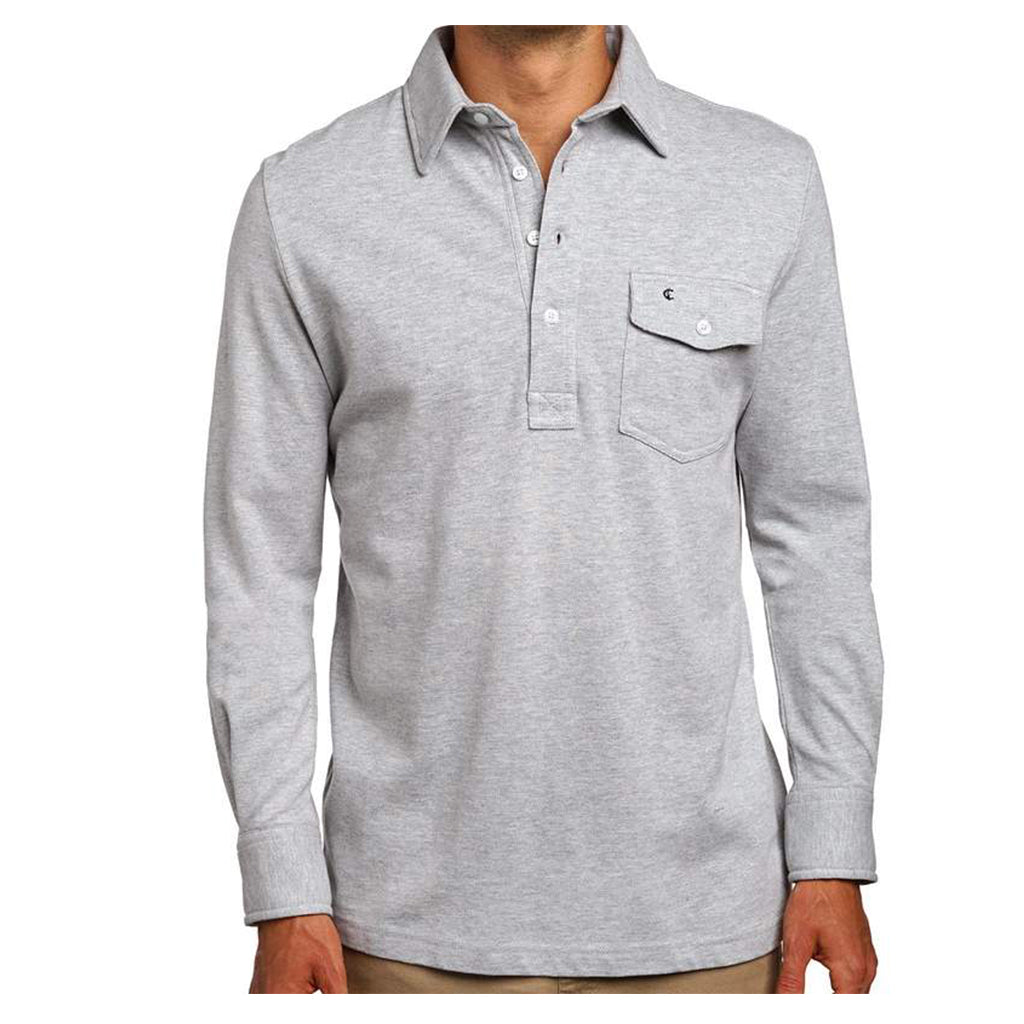 Criquet_Light_Heather_Grey_Long_Sleeve_Players_Shirt