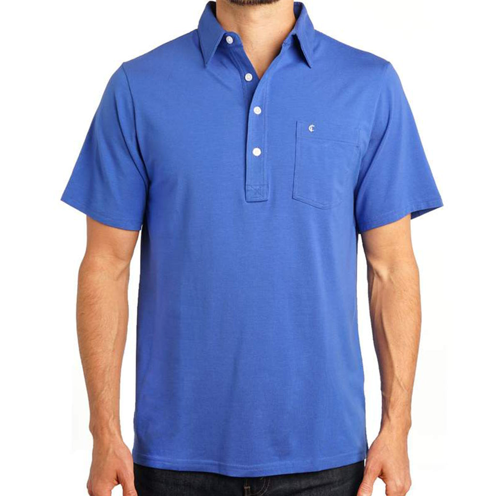 Stretch Players Shirt - Deep Blue Sea