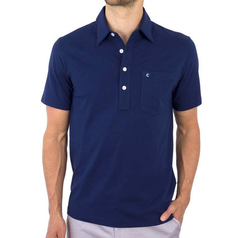 Stretch Players Shirt - Navy Blue