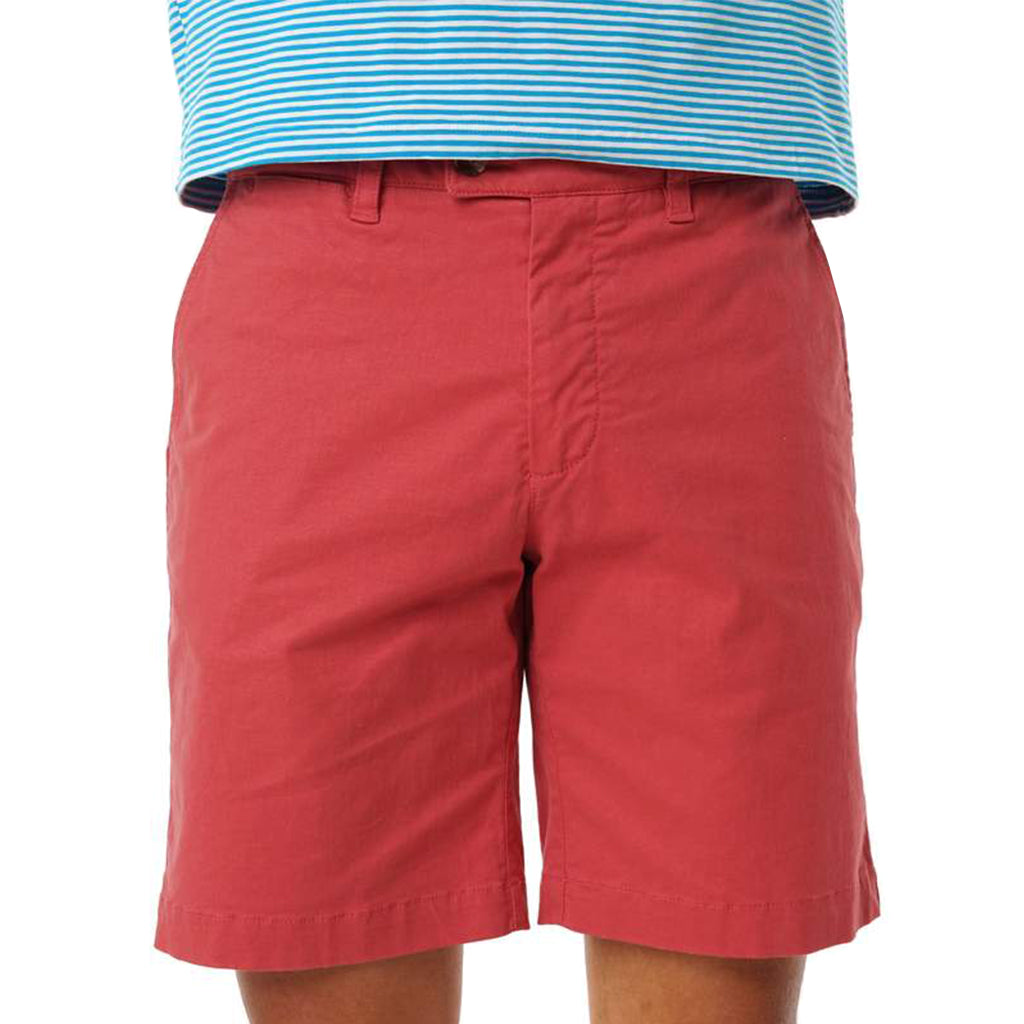 Criquet  Twill Shorts - Brick Red