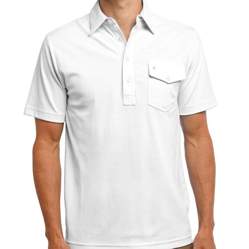 Criquet White Performance Players Shirt