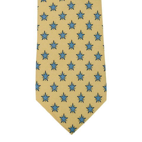 Zavala Flag Tie - Yellow