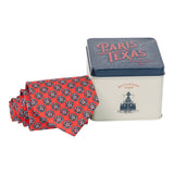 Texas Ranger Division Tie - Red
