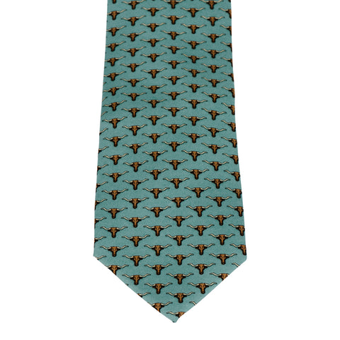Texas States Tie - Red, White & Light Blue