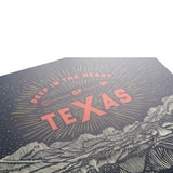 Deep in the Heart of Texas Wall Art Print