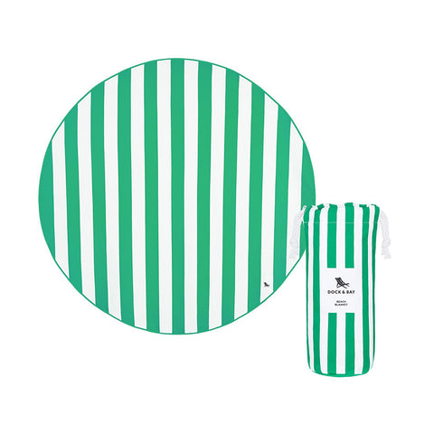 Round Stripe Beach Blanket