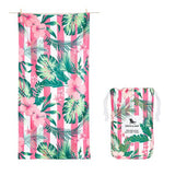 DockandBay_Patterned_Towel_Heavenly_Hibiscus_Large