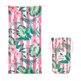 DockandBay_Patterned_Towel_Heavenly_Hibiscus_XLarge