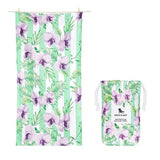 DockandBay_Patterned_Towel_Orchid_Utopia