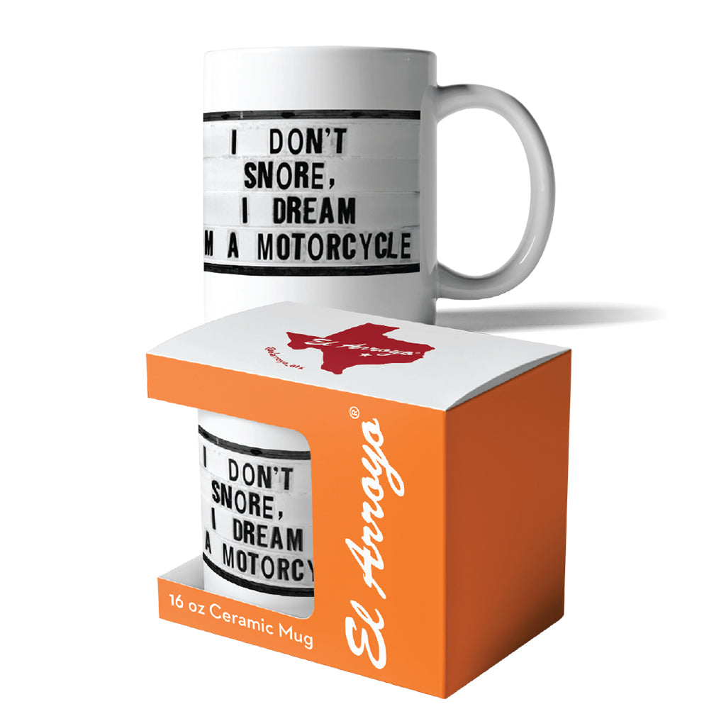 El_Arroyo_Motorcycle_Dreams_Coffee_Mug