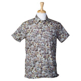 El Presidente Guayabera Shirt, Mexican Shirt for Men - Texas Camo
