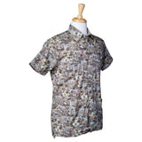 El Presidente Guayabera Shirt, Mexican Shirt for Men - Texas Camo 2