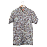 El Presidente Guayabera Shirt, Mexican Shirt for Men - Texas Camo 5
