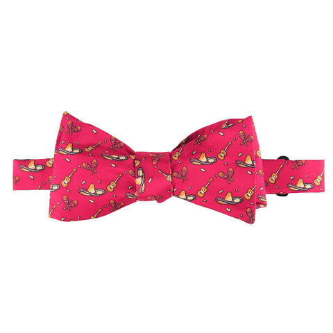 Fiesta Bow Tie - Red