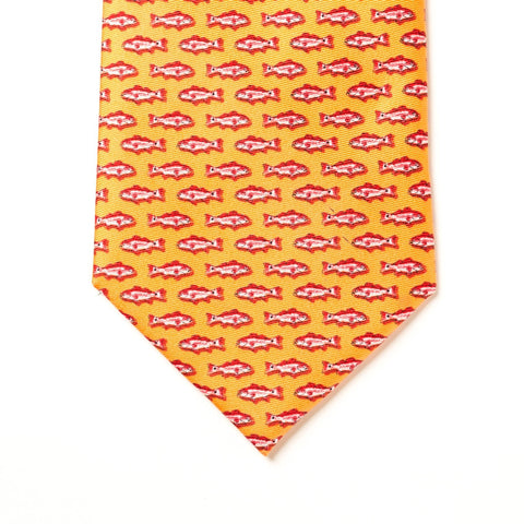 Redfish Tie - Orange