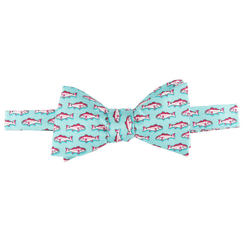 Redfish Bow Tie - Aqua