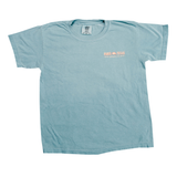 Boys Fish Stamp T-Shirt - Ice Blue