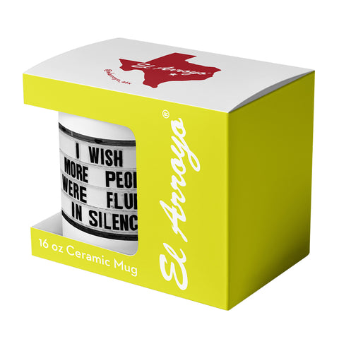 Fluent In Silence Coffee Mug