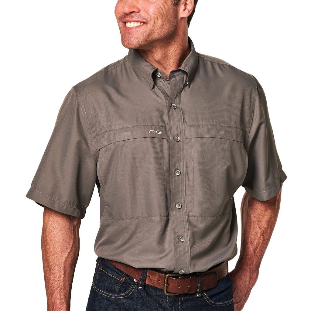GameGuard_MicroFiber_Short_Sleeve_Shirt_Gunmetal