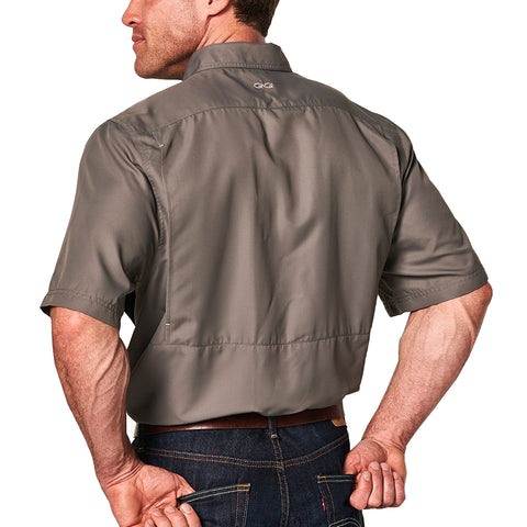 GameGuard MicroFiber Short Sleeve Shirt - Gunmetal