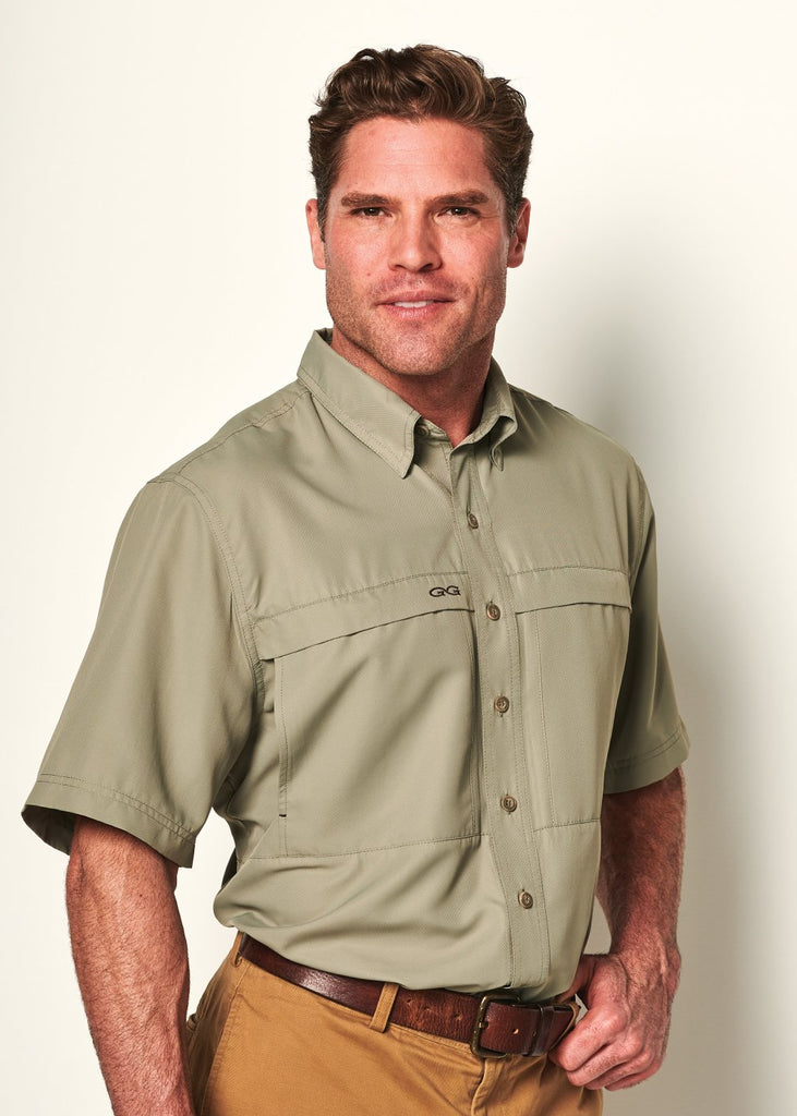 GameGuard MicroFiber Short Sleeve Shirt - Mesquite