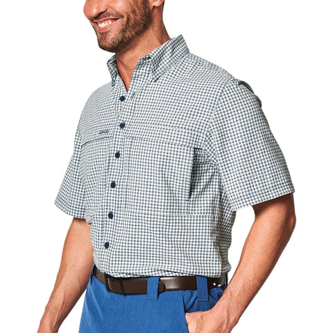 GameGuard TekCheck Short Sleeve Shirt - Glacier