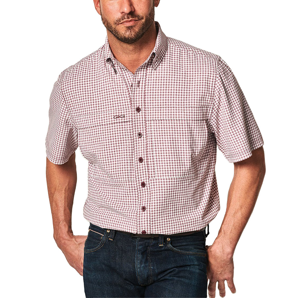 Gameguard_TekCheck_Short_Sleeve_Shirt_Maroon