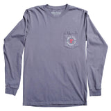 God's Country Long-Sleeve Pocket T-Shirt - Graphite
