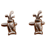 Golf Bag Cufflinks