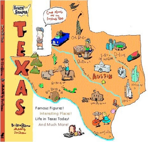 State Shapes : Texas by Erik Bruun