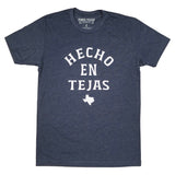 Hecho En Tejas T-Shirt - Midnight Navy