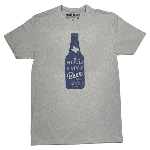 Hold My Beer T-Shirt - Heather Gray