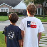 Boys Texas Star T-Shirt - Navy