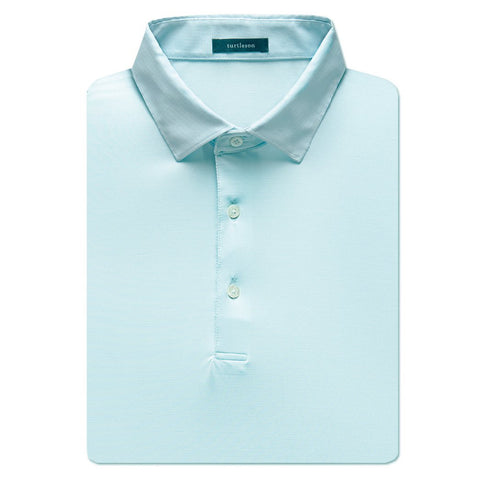 Lawrence Stripe Performance Shirt - Sky