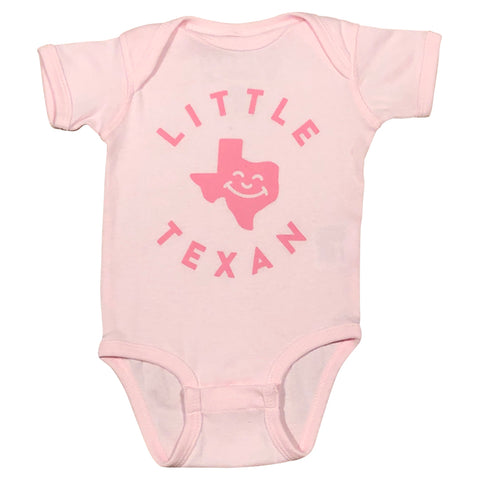 Little Texan Onesie - Pink