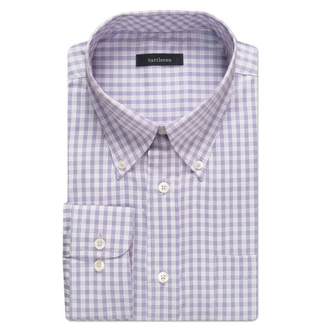 Lombard Windowpane Performance Sport Shirt