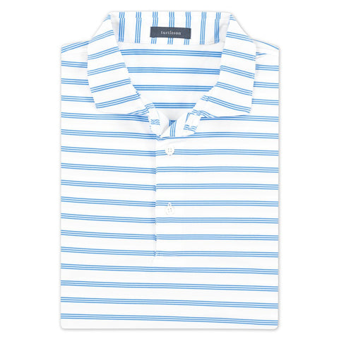 Maxwell Stripe Performance Polo