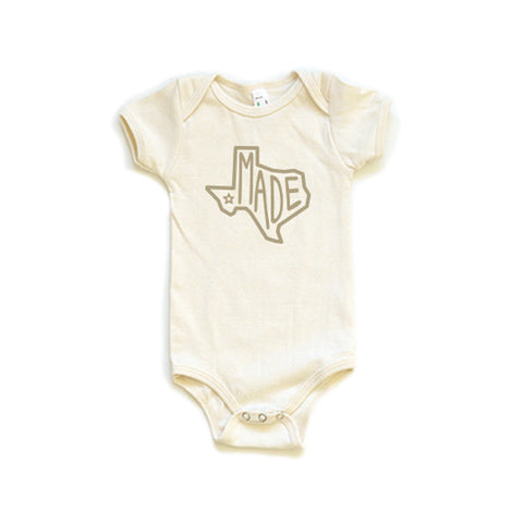 Made in Texas Baby Onesie