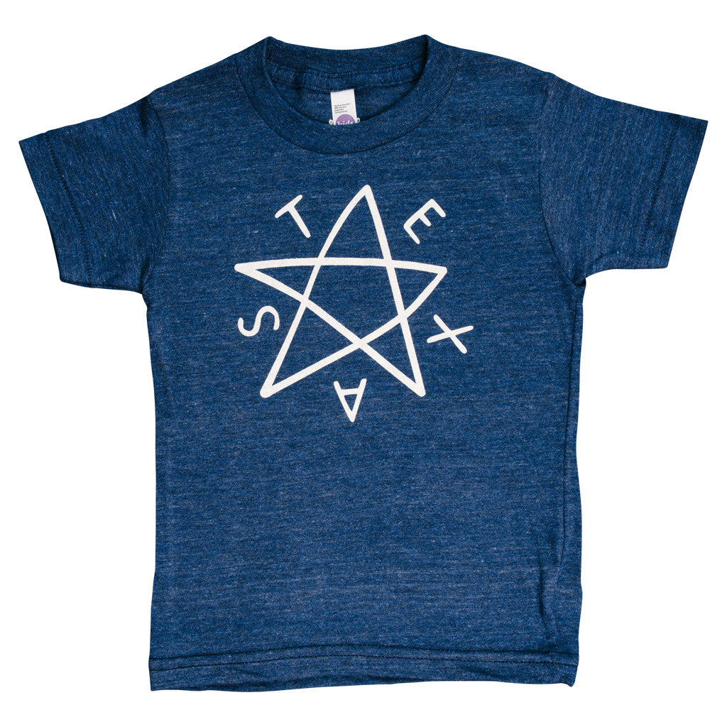 Republic of Texas Kids T-Shirt - Navy