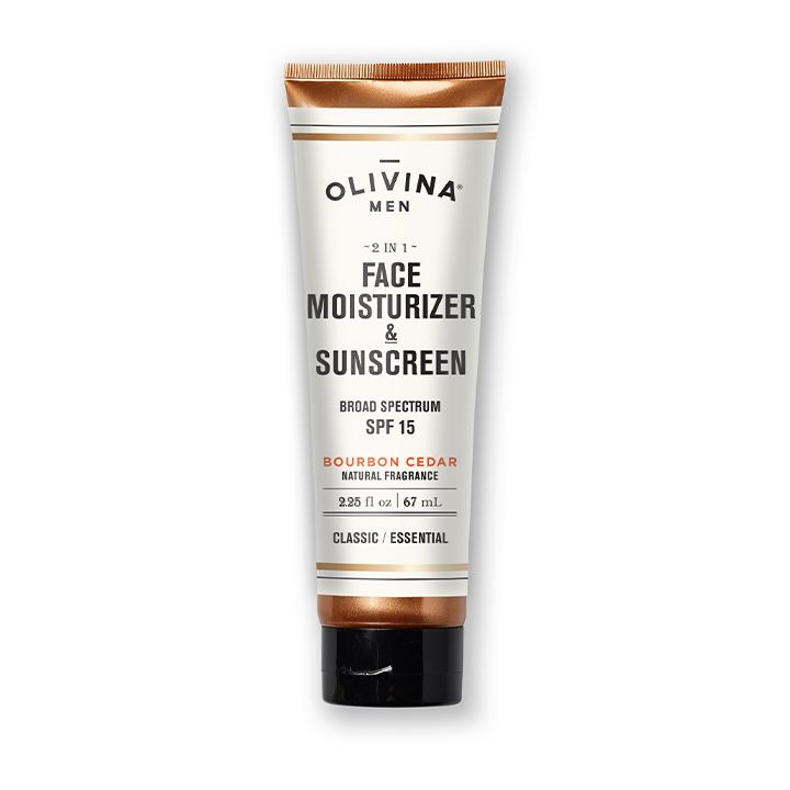 Olivina Men 2-in-1 Face Moisturizer & Sunscreen