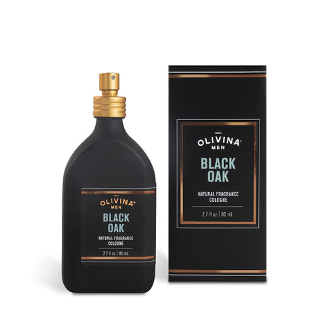 Olivina Men Black Oak Cologne