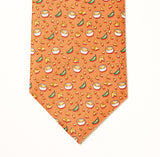 Chips & Queso Tie - Coral