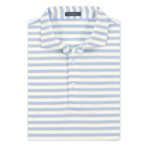 Powell Stripe Performance Polo