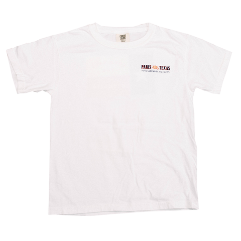 Boys Hunting Shield T-Shirt - White