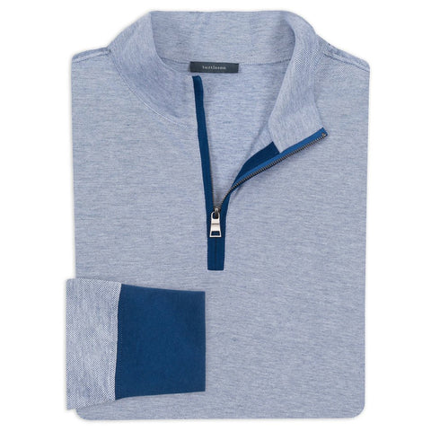 Royal Oxford Quarter-Zip Pullover