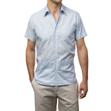 El Presidente Guayabera - Light Blue