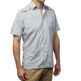 El Guapo Guayabera Shirt, Mexican Shirt for Men - Azul 2