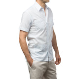 El Presidente Guayabera - Circle Up - Blue