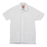 El Presidente Seersucker Guayabera, Mexican Shirt for Men - White 4