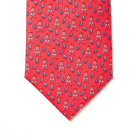 Spindletop Tie - Red